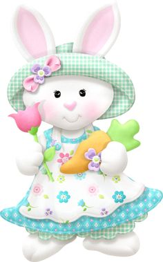 """Photo from album """"Bonnets Bowties"""" on Yandex. Happy Easter, Easter Bunny, Easter Eggs, Bunny Crafts, Easter Crafts, Easter Wallpaper, Easter Pictures, Easter Projects, Cute Clipart"""