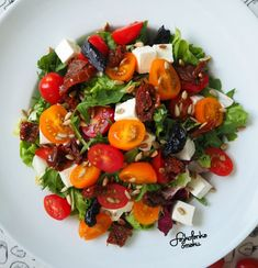 Fruit Salad, Cobb Salad, Polish Recipes, Feta, Grilling, Food And Drink, Meals, Salads, Fruit Salads