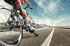 Professional road cyclist royalty-free stock photo