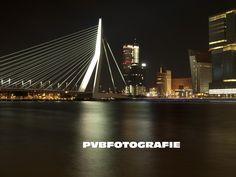 Erasmusbrug in Rotterdam, Zuid-Holland