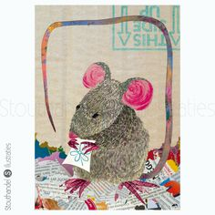 #stouthandel #stouthandelillustraties #rat #rodent #2020 #jaarvanderat #yearoftherat #collage #cutandpaste