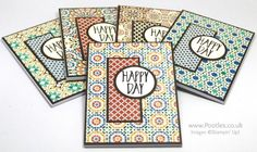 Stampin' Up! Demonstrator Pootles - Perfectly Wrapped Moroccan Welcome Notebooks