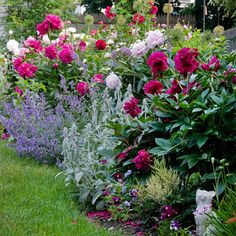 Marvelous 8 Peony Garden Landscaping Ideas For Best Beautiful Garden Inspiration - Peonies Flower Garden Design Idea - Garden Care, Diy Garden, Garden Cottage, Dream Garden, Garden Projects, Shade Garden, Garden Tips, Best Garden, Summer Garden