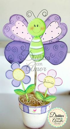 Foam Crafts, Diy And Crafts, Arts And Crafts, Paper Crafts, Butterfly Drawing, Butterfly Crafts, 1st Birthday Cake Topper, Butterfly Birthday Party, Art And Craft Videos