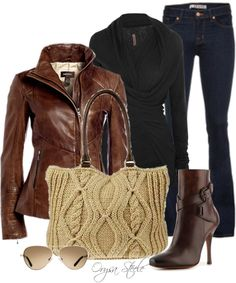 """""""Walk in the Leaves"""" by orysa on Polyvore"""