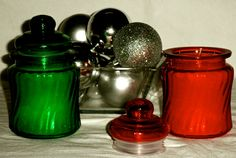Christmas Handmade Scented Candles - Cozy Holiday Season Glass and pillar candles Velas Navideñas hechas a mano by CiaoCreations on Etsy