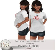 [LVS&CO]BEFORE&AFTER-TEE SET -IAMMOM