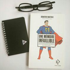 """- Lecture du jour : """"Une mémoire infaillible"""" de Sebastien Martinez"""