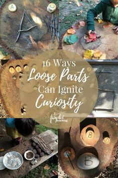 16 Ways Loose Parts Can Ignite Curiosity - Loose parts and authentic play experiences for children are two vitally impor Play Based Learning, Learning Through Play, Early Learning, Learning Centers, Reggio Inspired Classrooms, Reggio Classroom, Outdoor Classroom, Curiosity Approach Eyfs, Fairy Dust Teaching