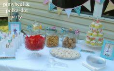 Pin Wheel birthday party (Great ideas)