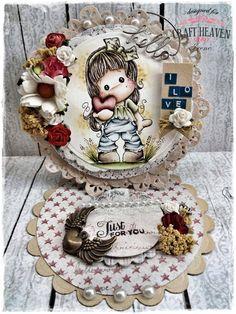 Craft Heaven Shop Inspirational Blog: She Loves Flowers..