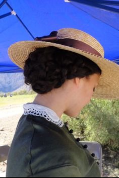 Dressed in Time: Day Two at Spring Mountain Ranch and a Green Silk Dress