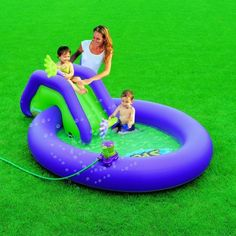 Kids Bubble Pool from Bestway on toytoy. Kids Bubbles, Outdoor Decor, Things To Sell, Top, Products, Swiming Pool, Crop Shirt, Gadget, Shirts