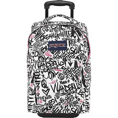 JanSport SuperBreak Rolling Backpack - Prism Purple Zebra. | Cool ...