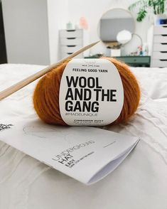 Feeling Good yarn by Wool and the Gang is lovely and soft and perfect for cosy Christmas projects. Here is Feeling Good yarn in Cinnamon Dust. Cosy Christmas, Christmas Projects, Feel Good, Cinnamon, Diy Projects, Wool, Feelings, Digital Media, Crochet