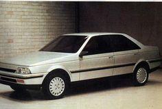 OG   1987 Peugeot 405 - Project D60   Full size mock-up dated Apr. 1983
