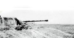 Panther nr. 211 in a cover position during which it destroyed 7 Russian tanks on August 22nd 1943