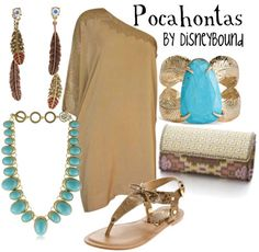 Pocahontas by DisneyBound Disney Dresses, Disney Outfits, Cute Outfits, Disney Clothes, Disney Costumes, Skirt Outfits, Work Outfits, Disney Inspired Fashion, Disney Fashion