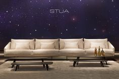 With the new Costura sofa and the Solapa tables, STUA delivers a surprising design that reflects the timelessness without losing its innovative spirit. Costura Sofa & Solapa Tables are a Jon Gasca design. www.stua.com