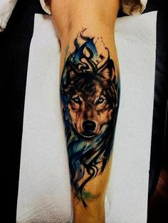 Best Wolf Tattoos In the World Wolf Tattoo Forearm, Wolf Tattoo Back, Small Wolf Tattoo, Wolf Tattoo Sleeve, Lion Tattoo, Sleeve Tattoos, Tattoo Wolf, Wolf Tattoo Design, Skull Tattoo Design