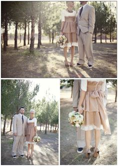 high-waisted wedding
