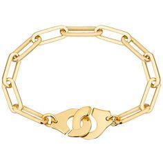 "Dinh Van Joaillier ""Menottes dinh van R15"" Bracelet, Yellow  Gold"