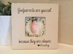 Godparents frame gift godmother godfather godparents gift from godchild Personalized picture frame board frame personalized frame gift by BoutiqueButterLu on Etsy https://www.etsy.com/ca/listing/509751059/godparents-frame-gift-godmother