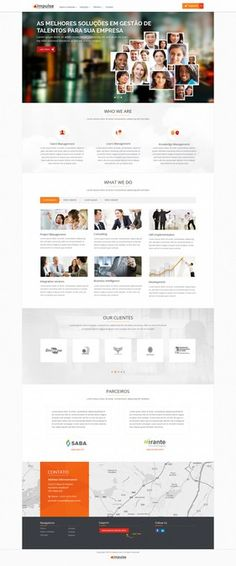 Create Impulse Web Site - Talent Management Solutions Company by Joko Designs