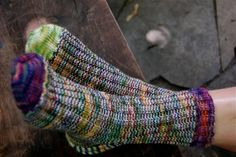 A Study in Scraps: Sock #1 | Craftsy