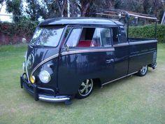 T1 VW Bus doublé cab pick up vintage