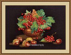 Набор для вышивки крестом Овен Осенний блюз 943