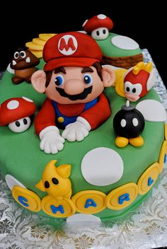Mario Cake - Birthday possibilities!
