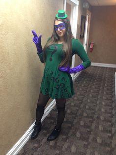 riddler costume for women & 50u0027s Female Riddler Costume Idea by MadRain92.deviantart.com on ...