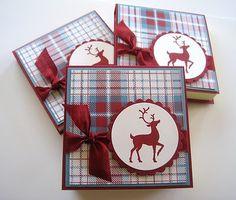 Deb's Card Buffet: Christmas Post It Pads