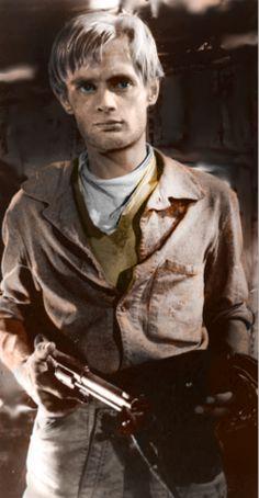 A very young David McCallum