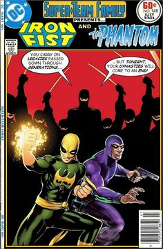 Super-Team Family: The Lost Issues!: Iron Fist and The Phantom
