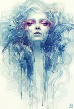 Fantastic Digital Painting by Anna Dittmann! 10 Pics!