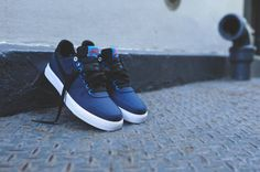 competitive price f17a2 49f9f Nike Air Force 1 AC PRM QS Midnight Navy Black OKC   Kixify Marketplace