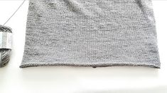 Elengiina: Ylhäältä alas neulottu paita + Helppo ohje Knitting, How To Make, Breien, Tricot, Stricken, Weaving, Knits, Crocheting, Yarns