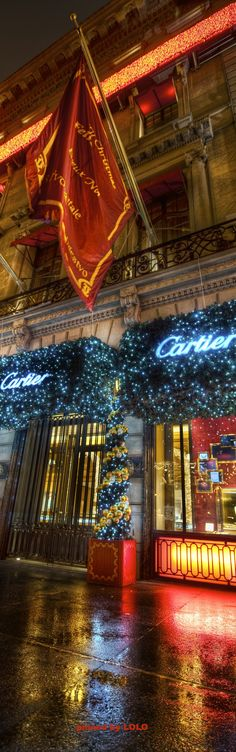 Shopping at Cartier....NYC New York City Christmas, City That Never Sleeps, New Zealand Travel, Christmas Shopping, Christmas Lights, Cartier, Around The Worlds, Luxury, Beautiful