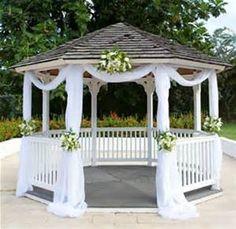 décoration kiosque mariage - Bing images