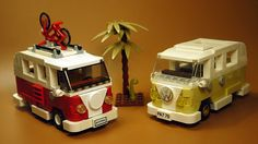 There's something very appealing about the nostalgic past of the Volkswagen T1 campers. The LEGO VW Camper 10220 remains a favourite with fans, as evidenced by the fact that it's been in production since 2011. At a smaller scale, though, this fan-made version by mzxgod does a great job at roughly minifigure scale. The model looks …