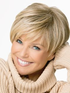 Christie Brinkley Uptown | Synthetic Monofilament Crown Wig | Wigs.com - The Wig Experts™