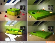 Changeable couch!