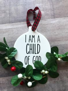 I Am A Child of God Rae Dunn inspired Ornaments Primary Christmas Gifts Favors Tags 2018 Theme LDS Mormon Sunbeams Valiant Ceramic Pottery Primary Christmas Gifts, School Christmas Gifts, Christmas Gifts For Parents, Christmas Bible, Trending Christmas Gifts, Christmas Fun, Nursery Christmas Gifts, Christmas Program, Toddler Christmas