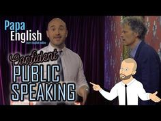 Learn to do public speaking with confidence in any type of event in these 5 steps! We also brought a few special guests along for the video, can you see them. Learning English Online, Public Speaking, Special Guest, Learn English, English Language, Confidence, Family Guy, Teaching, Youtube