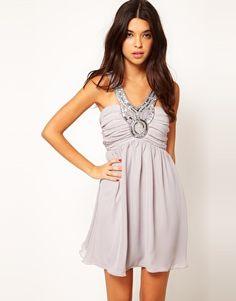@Brittany Miranda  Rare Skater Dress With Embellishment