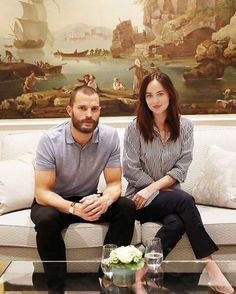 New picture of Dakota and Jamie #FiftyShadesDarker press junket in Hamburg, Germany