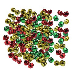 Funpa Christmas Jingle Bell Assorted Colors DIY Craft Bell Xmas Bell ** Learn more by going to the photo web link. (This is an affiliate link). Christmas Jingles, Cheap Christmas, Xmas Bells, Jingle Bells, Craft Bells, Christmas Decorations, Diy Crafts, Colors, Link