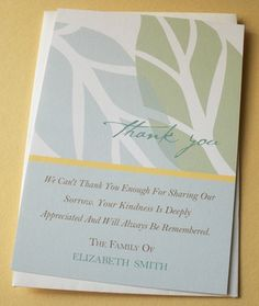 Jewish Sympathy Thank You Cards with the Star of David ...